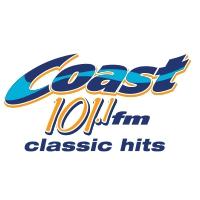 Logo of radio station CKSJ-FM Coast 101.1