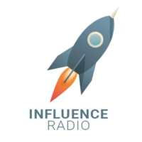 Logo of radio station Influence Radio