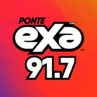 Logo of radio station XHGLX Exa FM 91.7