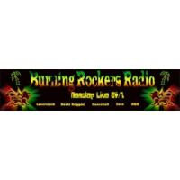 Logo de la radio Burning Rockers Radio