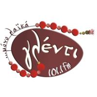 Logo of radio station Γλέντι 101,1
