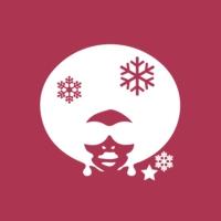 Logo de la radio 100 % Black Soul Christmas