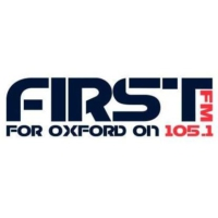 Logo of radio station First 105.1 FM