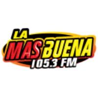 Logo of radio station La Más Buena