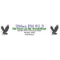 Logo of radio station 2Max FM