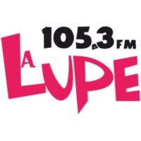 Logo de la radio XHPAG La Lupe 105.3 FM