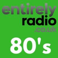 Logo of radio station Entirely Radio 80's