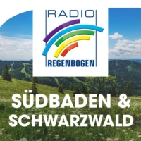 Logo de la radio Radio Regenbogen Südbaden und der Schwarzwald