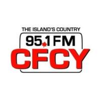 Logo of radio station 95.1 FM CFCY