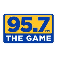 Logo of radio station KGMZ The Game 95.7