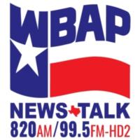 Logo of radio station WBAP 820 AM