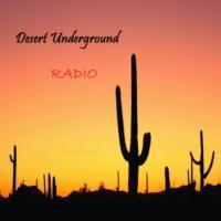 Logo de la radio Desert Underground Radio
