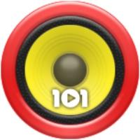 Logo of radio station 101.ru - Humor Non Stop