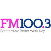 Logo of radio station KSFI FM 100.3