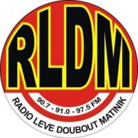 Logo de la radio RLDM - Radio Lévé Doubout Matinik