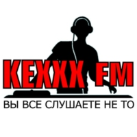 Logo of radio station KEXXX FM Kiev
