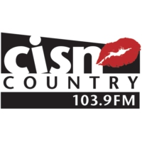 Logo of radio station CISN Country