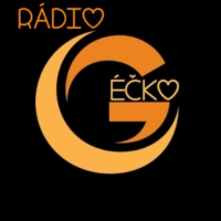 Logo of radio station Rádio Géčko