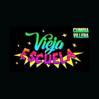 Logo de la radio cumbia villera (la vieja escuela) radio