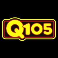 Logo of radio station Q105 WRBQ
