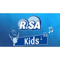 Logo of radio station R.SA Kids