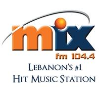 Logo de la radio MIX FM 104.4