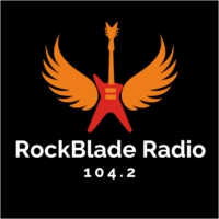 Logo of radio station RockBlade Radio