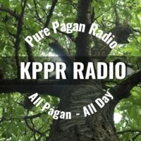Logo of radio station KPPR Pure Pagan Radio