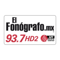 Logo of radio station XEN-AM Radio Centro / El Fonógrafo 93.7 FM