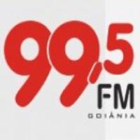 Logo of radio station Rádio 99.5 FM Goiania, GO