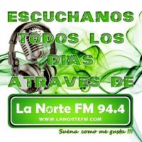 Logo de la radio La Norte 94.4 FM