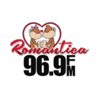 Logo of radio station XEAP Romántica 96.9 FM