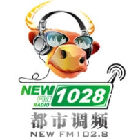 Logo of radio station 昆明NEW FM102.8 - Kunming NEW FM102.8