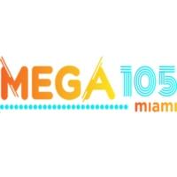Logo of radio station La Mega105