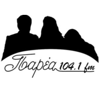Logo of radio station Paréa 104.1 fm - Παρέα 104.1 fm