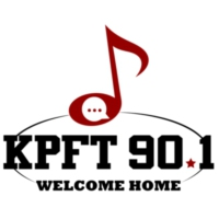 Logo of radio station KPFT 90.1 FM