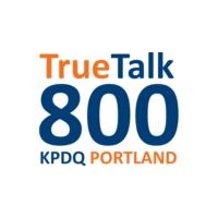 Logo de la radio KPDQ True Talk 800