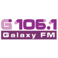 Logo of radio station Galaxy 106.1