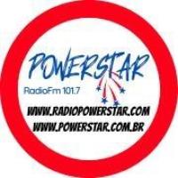 Logo of radio station PowerStar Rádio FM 101.7