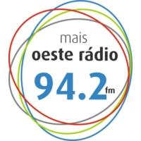 Logo of radio station Mais Oeste Rádio