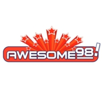 Logo of radio station KKCL Awesome 98