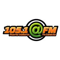 Logo de la radio XHIM-FM @FM 105.1