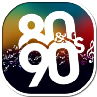 Logo of radio station Unlimited80s