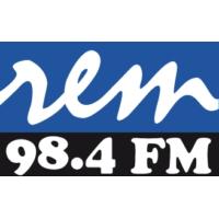 Logo de la radio R.E.M 98.4 FM
