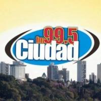 Logo de la radio FM Ciudad Paraná 99.5 Mhz