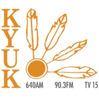 Logo of radio station KYUK AM