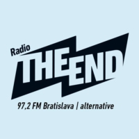 Logo of radio station Rádio THE END