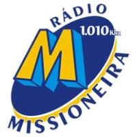 Logo de la radio Radio Missioneira 1010 AM