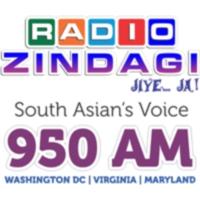 Logo of radio station WCTN Radio Zindagi 950