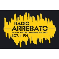 Logo of radio station Radio Arrebato 107.4 FM